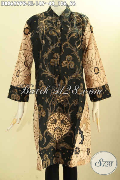 Baju Atasan Wanita Bahan Batik Desain Terbaru Tunik Batik