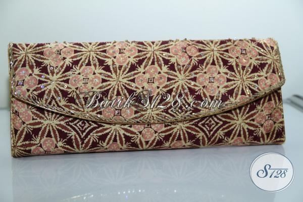 Dompet Terbaru Wanita, Bahan Batik Sutra Mewah, Untuk Kondangan Dan Acara Resmi [DS0004AY]