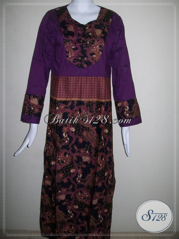 Gamis Batik Untuk Wanita Masa Kini [G001P-MXL]