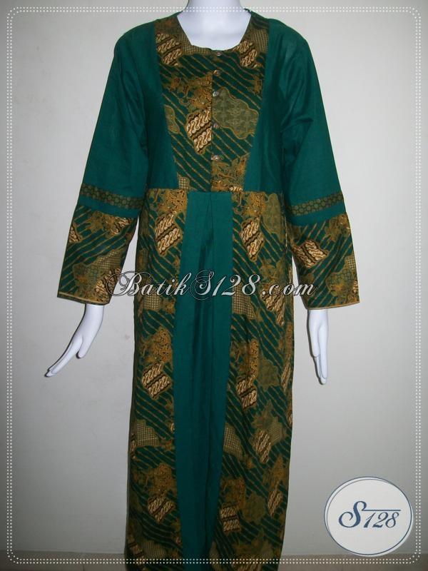 Toko Online Murah Abaya Batik Solo [G009P-M]