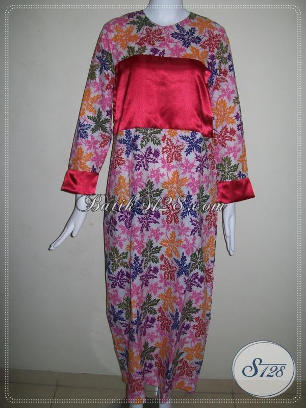 Gamis Batik Perempuan Dewasa Baju Batik Gamis Trendy