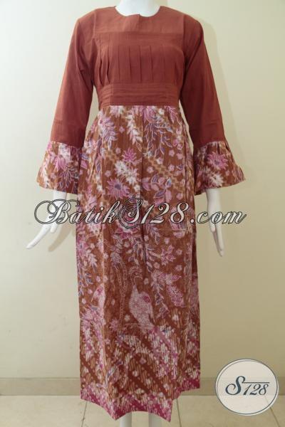 Koleksi Terbaru 2014 Butik Batik Solo Online, Busana Batik Pesta Wanita Modern, Batik Abaya Gamis Keren Dan Trendy, Size M