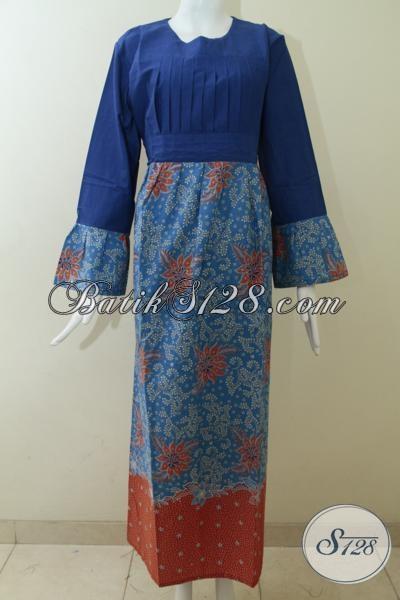 Trend Model Abaya BAtik WAnita 2014,Motif BAtik Abaya Wanita Modern [G1195P-XL]
