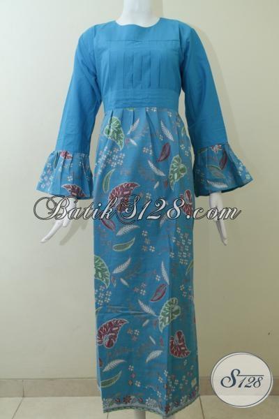 Gamis Wanita Motif Batik Modern [G1413P-XL]