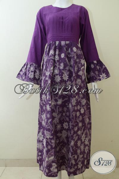 Abaya BAtik Wanita Trend Masa Kini Model Wanita Berhijab [G1417BT-XL]