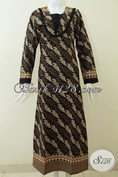 Juragan Batik Solo Sedia Gamis Batik Terbaru Motif Unik Klasik