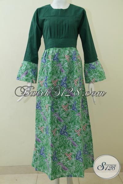 Gamis Batik Size Xl Baju Batik Muslim Perempuan Dewasa