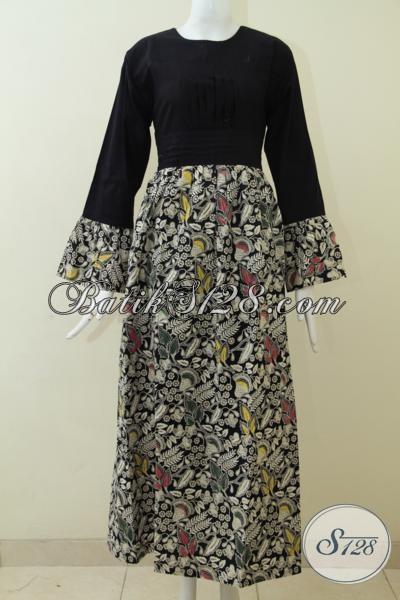 Baju Batik Gamis Kwalitas Bagus Harga Murah Abaya Batik