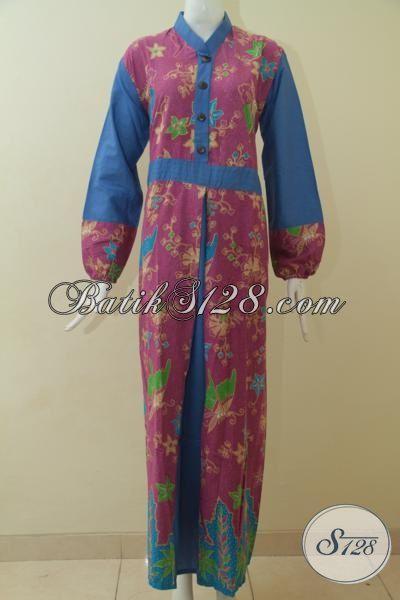 Gamis Batik Wanita Muda Dan Remaja Putri Baju Muslim