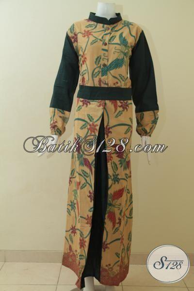Produk Gamis Batik Koleksi Terbaru Asli Buatan Solo Baju