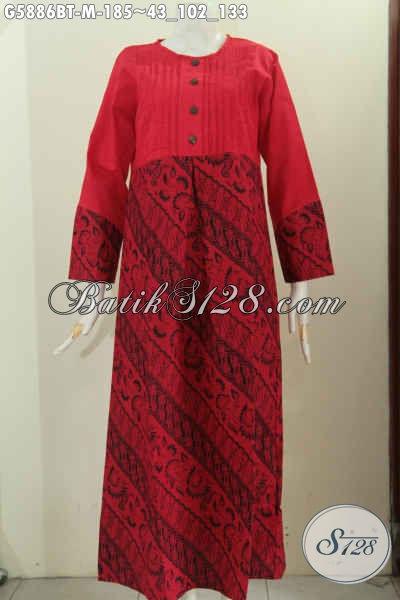 Gamis Batik Warna Monokrom Hadir Dengan Desain Keren Dan Elegan