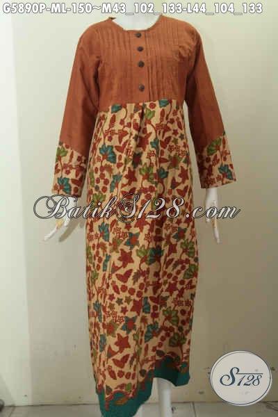 Jual Baju Batik Gamis Warna Elegan Dan Mewah Busana Batik
