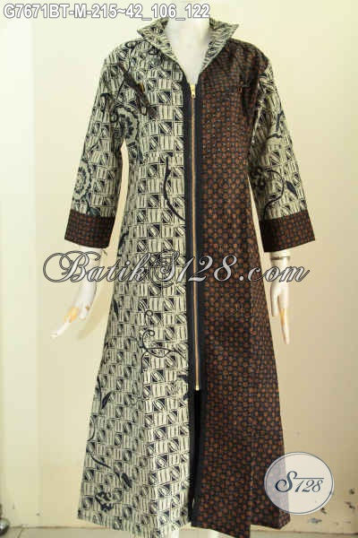 100 Gambar Gamis Batik Klasik Dengan Jual Gamis Batik