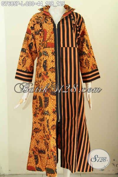 Batik gamis modern terbaru