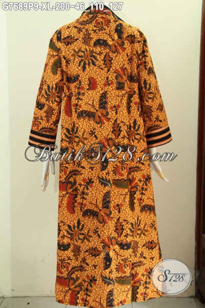 Produk Batik Gamis Istimewa, Baju Batik Solo Elegan Berkelas Nan Istimewa Untuk Wanita Muslimah Tampil Syar'i, Size XL