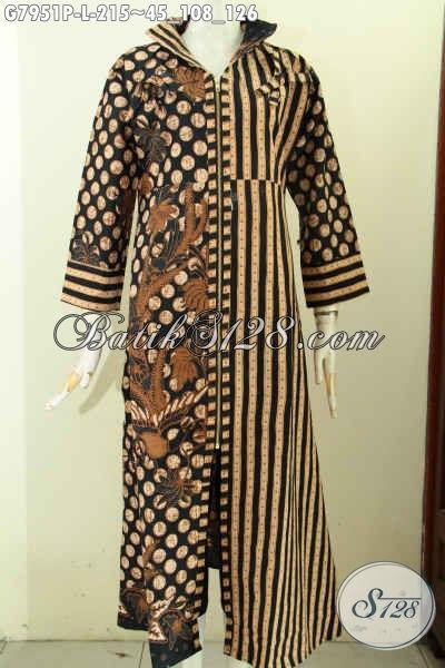 Baju Batik Lebaran Nan Elegan Dan Mewah Gamis Batik