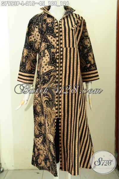 Jual gamis batik solo berkelas motif klasik proses Jual baju gamis untuk pria