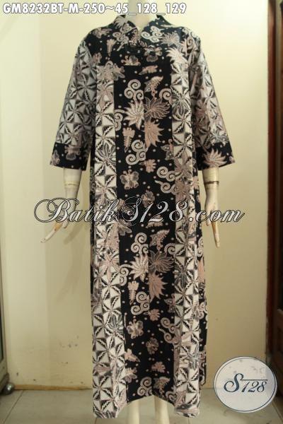 Model Baju Batik Muslim Untuk Wanita Muda, Gamis Batik ...