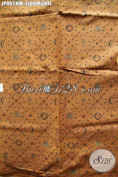 Jual Batik Bahan Jarik Motif Klasik Sidomukti Proses Printing Hanya 60K [JP001AM-240x105cm]