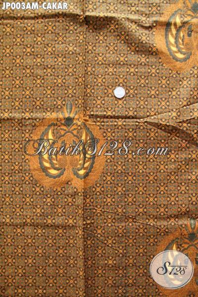 Kain Batik Solo Halus Proses Printing, Batik Printing Elegan Bahan Jarik Kwalitas Istimewa Hanya 65 Ribu [JP003AM-240x105cm]