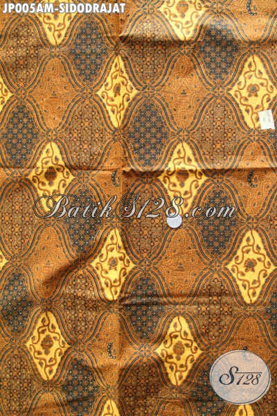 Batik Klasik Halus Proses Printing Motif Sidodrajat, Batik Kain Istimewa Bahan Jarik Dan Busana Formal [JP005AM-240x105cm]