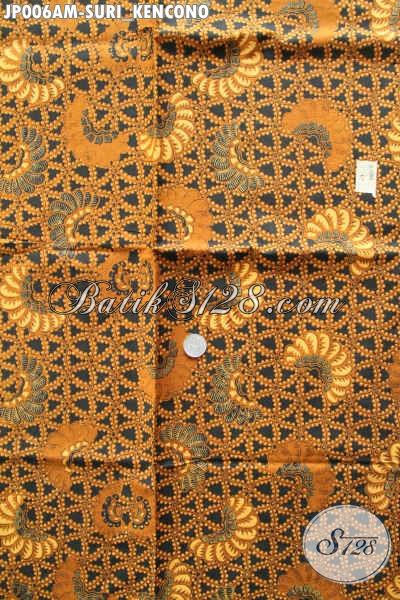Kain Batik Bahan Jarik, Batik Halus Proses Printing Motif Klasik Suri Kencono Di Jual Online 60K [JP006AM-240x105cm]
