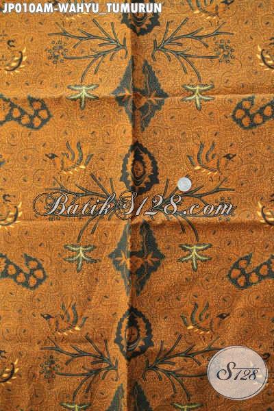 Contoh motif batik klasik Jawa Motif Wahyu Tumurun