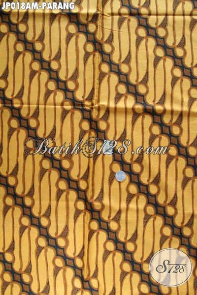 Kain batik bahan kemeja pria dan dress, motif parang
