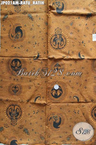 Batik Klasik Ratu Ratih, Batik Lawasan Bahan Jarik Proses Print Kwalitas Halus Di Jual Online [JP021AM-240x105cm]