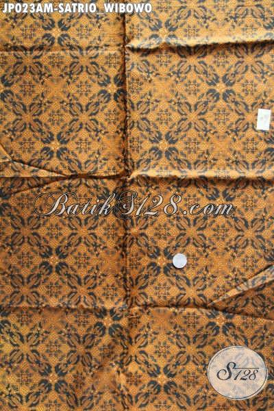 Kain Batik Jatik Print Motif Satrio Wibowo, Batik Solo Halus Istimewa Harga Murmer [JP023AM-240x105cm]