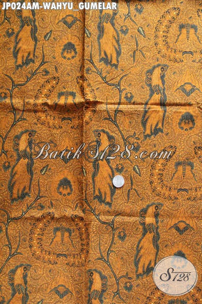 Bahan kemeja pria batik motif Wahyu Gumelar