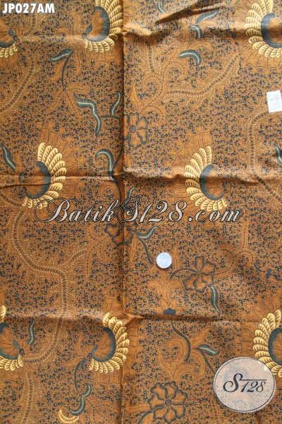 Kain Batik Halus Motif Klasik, Batik Jarik Print Istimewa Menunjang Penampilan Makin Berwibawa [JP027AM-240x105cm]