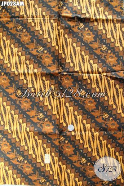 Batik Klasik Bahan Jarik, Kain Batik Elegan Berbahan Halus Dan Adem Proses Printing Hanya 60K [JP028AM-240x105cm]