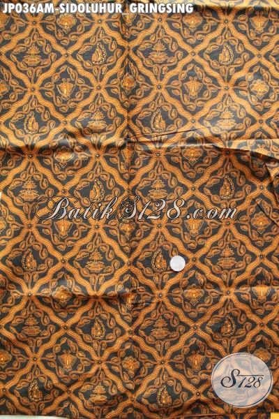 Kain Jarik Batik Klasik Motif Sidoluhur Gringsing Buatan Solo Asli Proses Printing Hanya 60K [JP036AM-240x105cm]