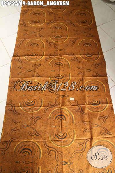 Batik Jarik Elegan Mewah Harga Murah Meriah Proses Printing Motif Babon Angkrem 60 Ribuan Saja