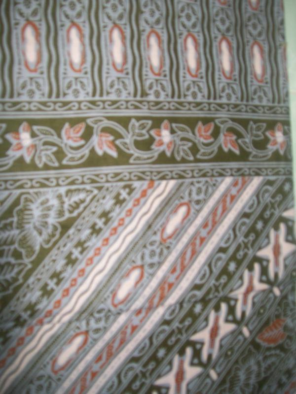 Kain Batik Modern Motif Salem [K025]