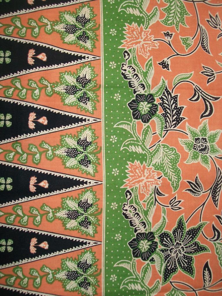 Jual Kain Batik Cirebon Bahan Katun Halus Printing [K031]