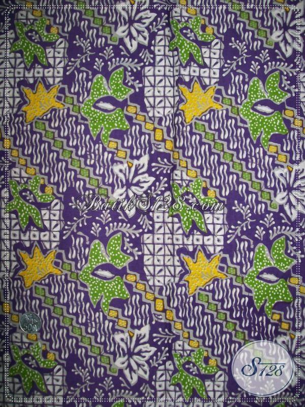 Bahan Batik Trendy Untuk Seragam Kantor [K1011P]