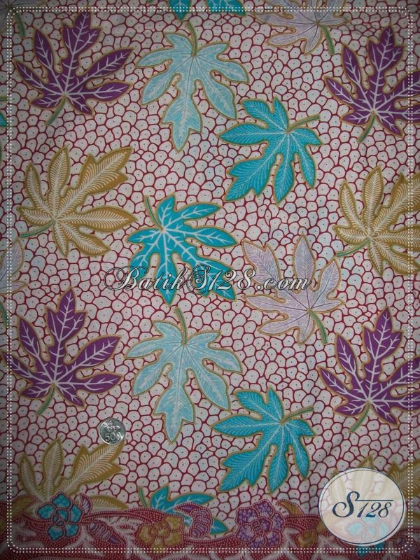 Batik Murah Dan Berkwalitas,Kain Batik Untuk Seragam Pegawai Bank [K1038P]