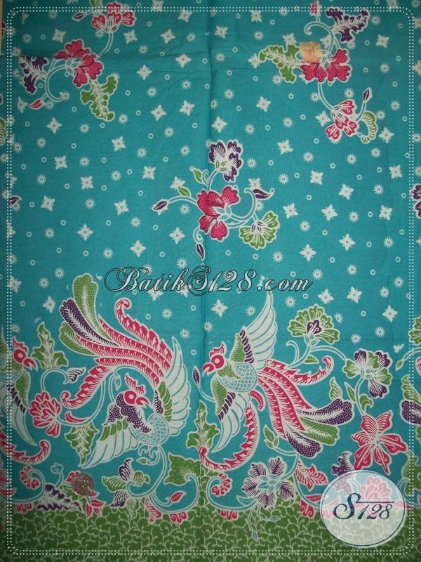 Motif Kain BAtik Elegan Asli Batik Jawa Di Solo [K1074P]