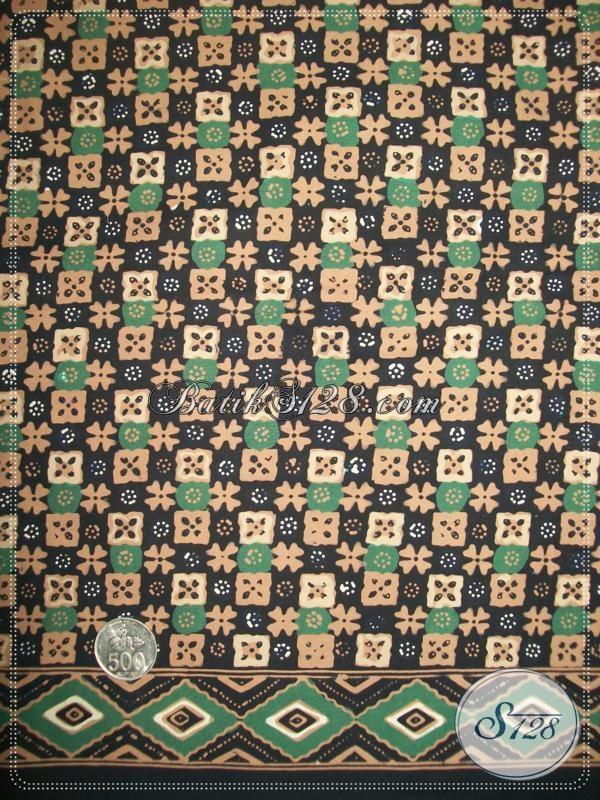 Pusat Penjualan Kain Batik Solo Terlengkap, Batik Bahan Busana Dengan Motif Klaik Modern Bisa Untuk Blus Ataupun Kemeja