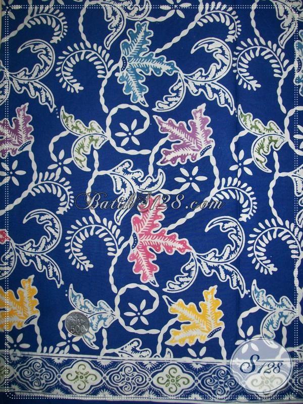 Bahan Batik Untuk Busana Batik Fashion Wanita Modern [K1116C]