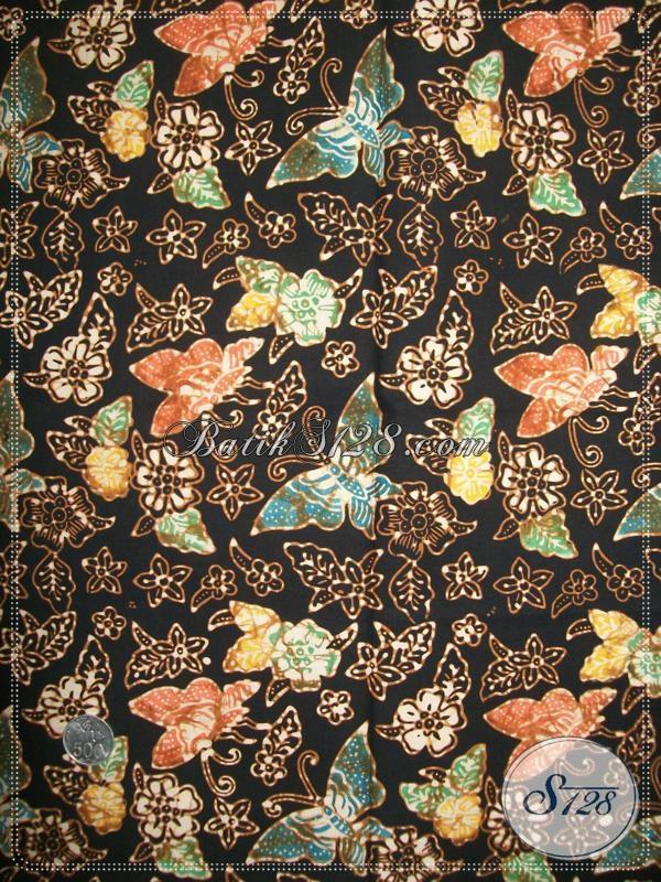 Batik Kain Busana Modern Wanita Muda Dan Dewasa, Batik Solo Motif Klasik Kain Berkwalitas