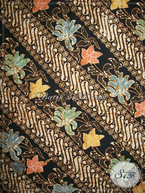 Kain Batik Halus Untuk Busana Batik Pesta [K1126C]