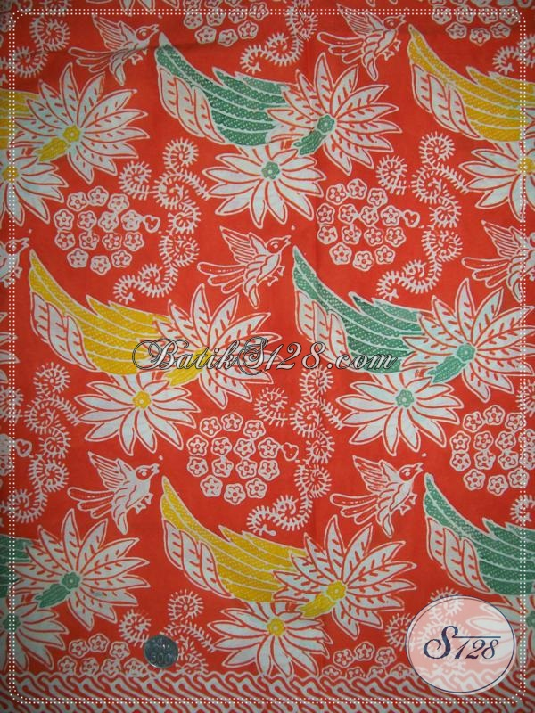 Aneka Kain Batik Keren Warna Cerah Handmade, Batik Kain Bahan Busana Wanita Modern Yang Selalu Tampil Cantik Dan Stylish