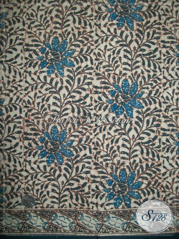 Kain Batik Warna Alam Motif Batik Modern Asli Batik Solo K1137ca