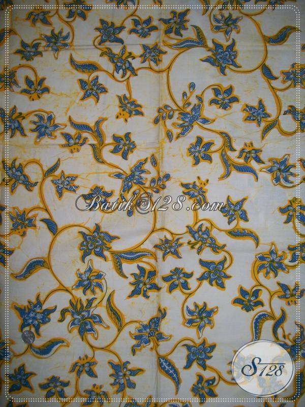 Kain Batik Full Floral Untuk Para Hijaber Muda [K1143BT]