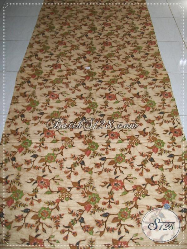Jual Batik Kain Bahan Busana Elegan, Kain Batik Solo Premium Halus Cocok Untuk Pakaian Ibu-Ibu Pejabat Karyawan Kantor Hingga Dosen