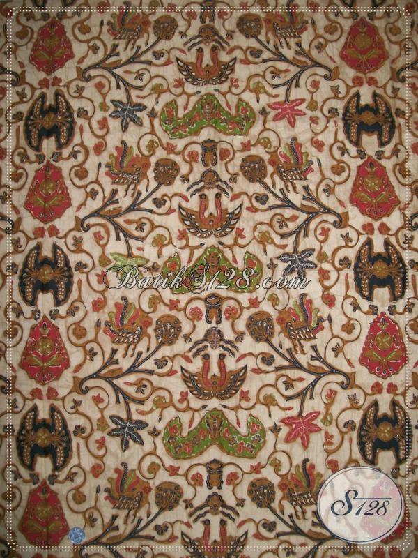 Kain Batik Klasik Modern Asli Pengerajin Solo, Batik Motif Wahyu Tumurun Paling Banyak Dicari Untuk Busana Resmi Dan Pesta