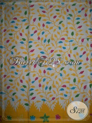 Motif Floral Untuk Kain Batik Asli Solo [K1176P]